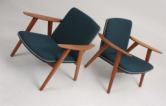 Bukke chairs by wegner